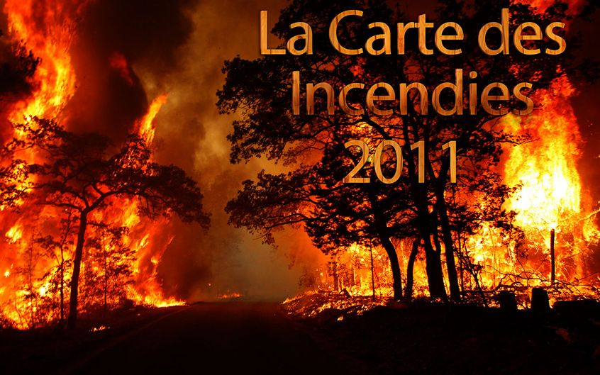 carte incendies tunisie 2011