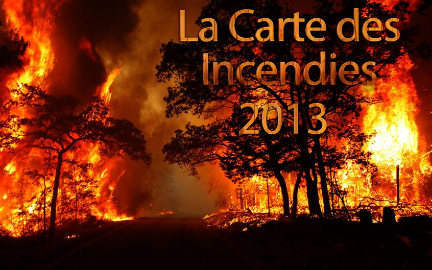 carte incendies tunisie 2013
